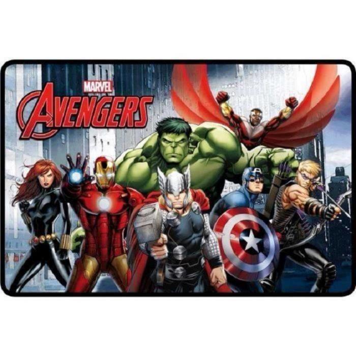 Tapis Disney Avengers 80 x 50 cm enfant GUIZMAX