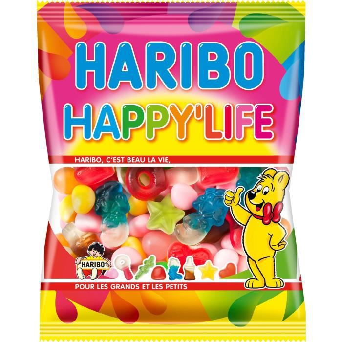 Assortiment de bonbons Happy Life 275 g Haribo
