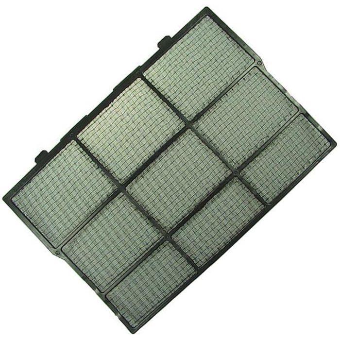 Grand filtre plastique noir - Climatiseur - LG (47017)