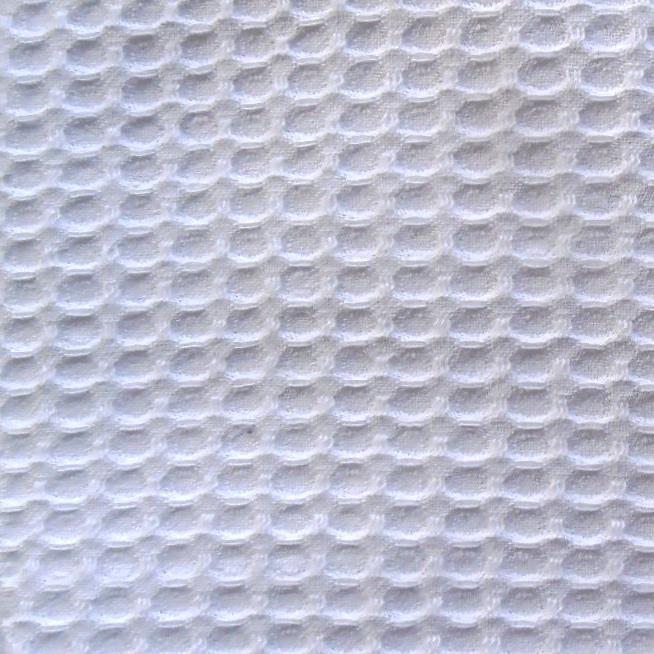 Nid d'abeille blanc au mètre