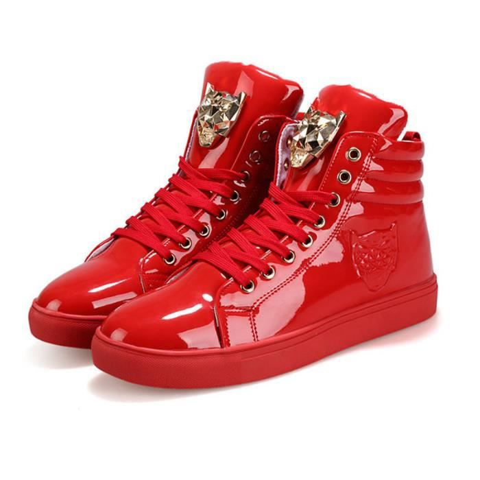 Baskets Homme - Chaussures montantes baskets hip-hop - rouge MIDENG™