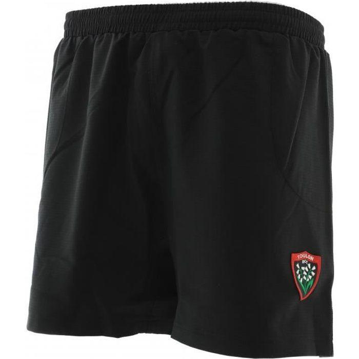 Short de rugby Hungaria modele rc toulon homme - Noir