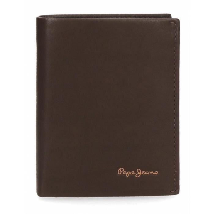 Portefeuille en cuir PEPE JEANS -Fair- - marron foncé - JOU-7932062-MARRONFONCE