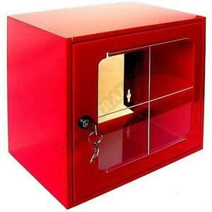 Boîte sous verre dormant 600x600x450mm 215236 Boît