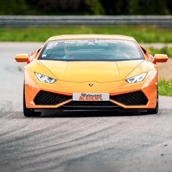 Smartbox - Pilotage ou baptême à sensations sur circuit en Lamborghini Huracan - Coffret Cadeau - 5 séances sur circuit