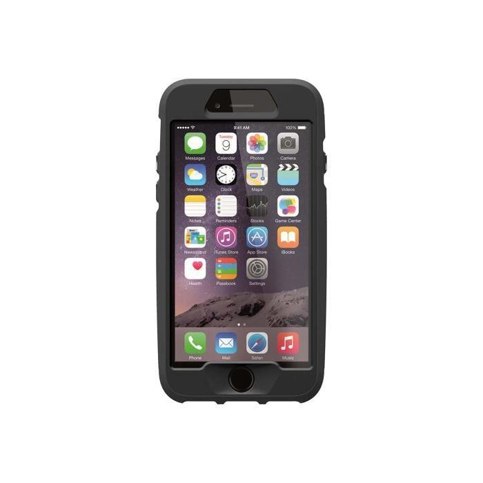 Thule Atmos X4 - Coque de protection pour téléphone portable - polycarbonate - Ombre foncée, corail de feu