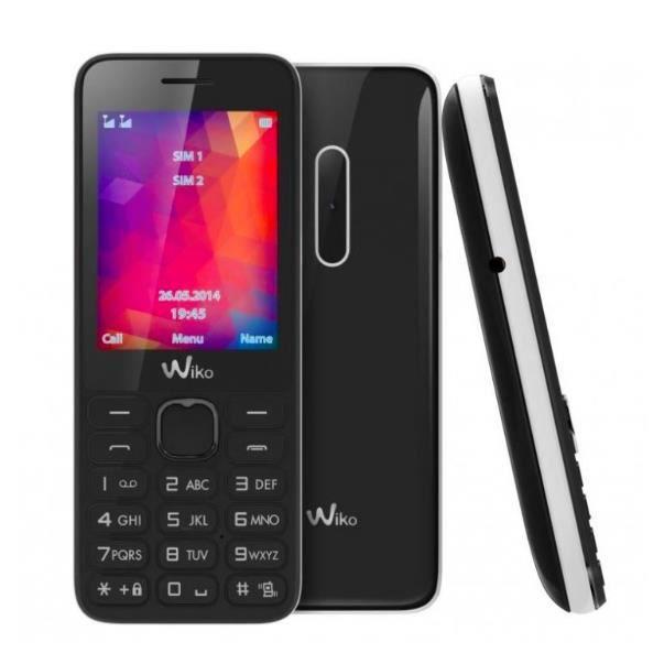 TELEPHONE PORTABLE WIKO RIFF 2 NOIR BLANC DUAL SIM
