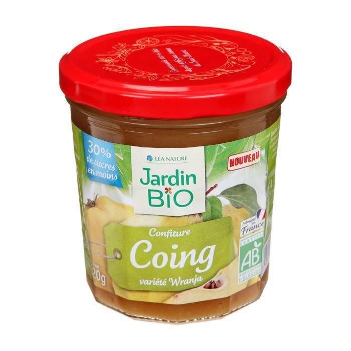 JARDIN BIO Confiture de coing bio - 320 g