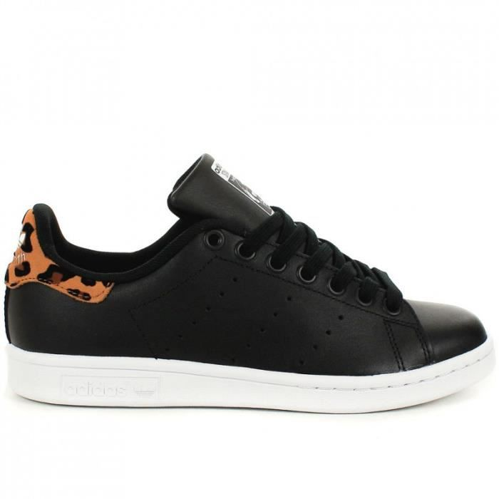 Stan Smith Noir Leopard