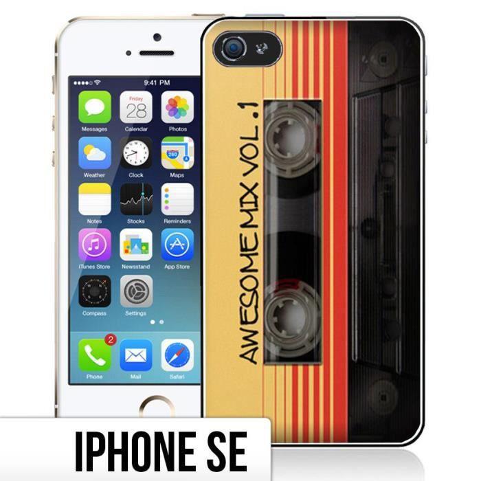 Coque iPhone SE Cassette Vintage
