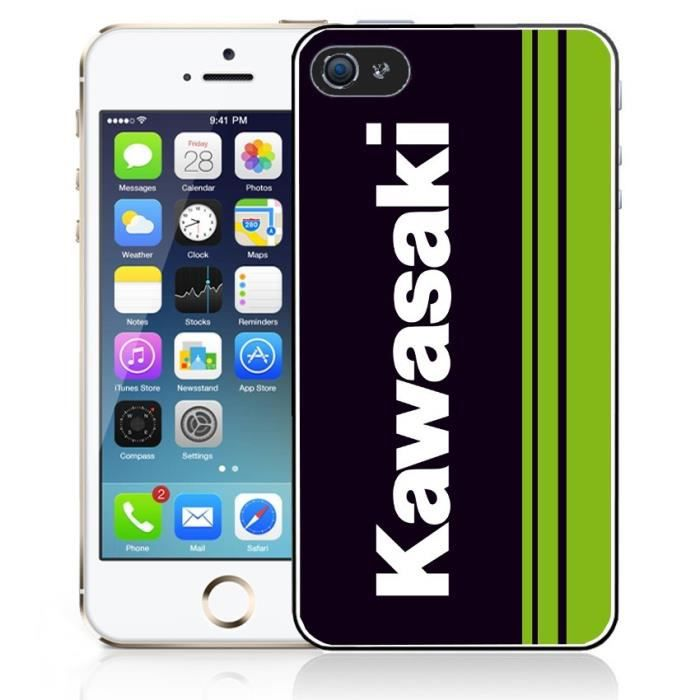 coque iphone 5 5s kawasaki achat coque bumper pas cher. Black Bedroom Furniture Sets. Home Design Ideas
