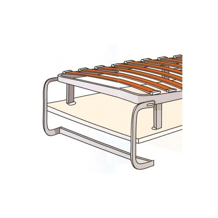Latte bois multiplis pour lit PARDO Pour:Lit de largeur 1600 mm