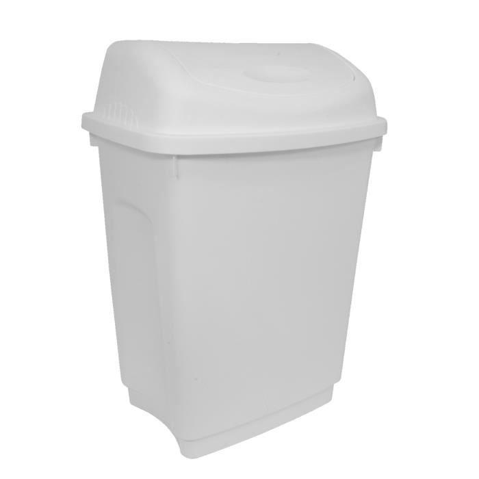 POUBELLE - CORBEILLE Charles Bentley 50 litres Flip Top Rubbish des déc