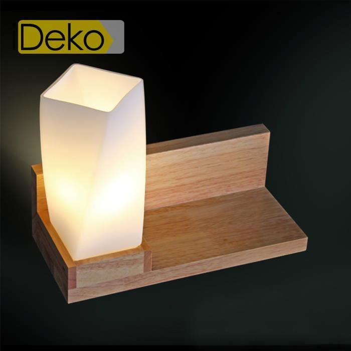 Ideko lampe poser bureau table chevet art design unique - Lampe table de nuit ...