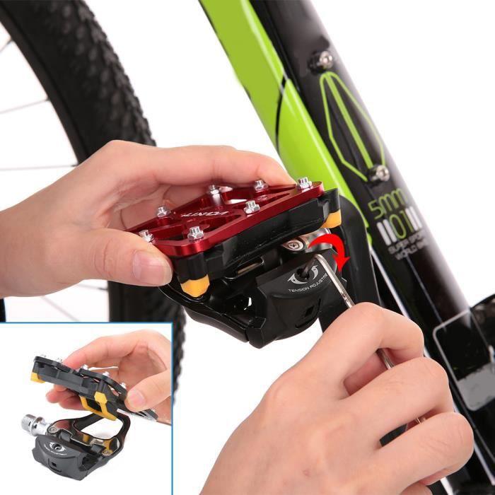 Pédale Adaptateur pour SPD Systèmes Poids Leger Plate-Forme pour Vélo