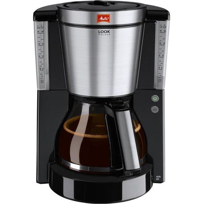 Melitta véritable machine à café Noir Filtre Carafe Enjoy Look Therm Deluxe