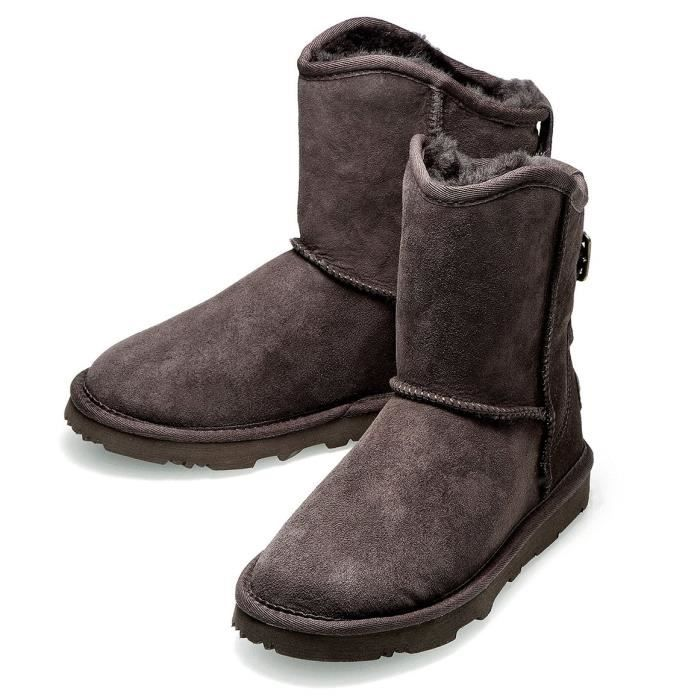 Kos Alexia Premium Short Double Face Australian Sheepskin Winter Boot B7mf7 Taille-37