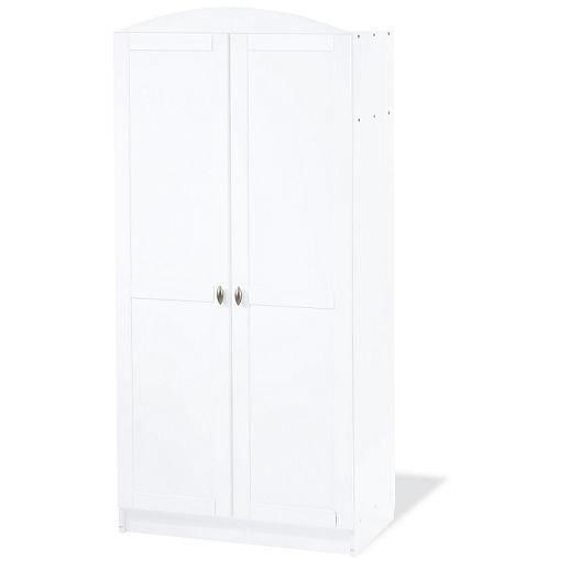 armoire enfant blanche laura achat vente armoire. Black Bedroom Furniture Sets. Home Design Ideas