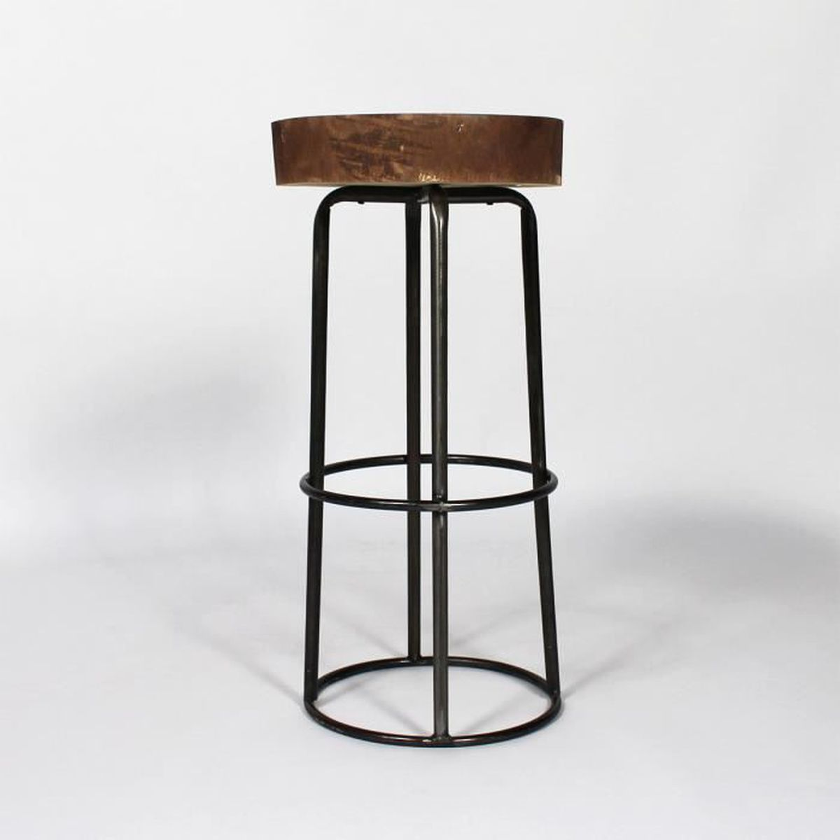 tabouret de bar original tronc d 39 arbre fcj03 36 bois achat vente tabouret de bar cdiscount. Black Bedroom Furniture Sets. Home Design Ideas
