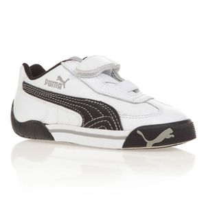 PUMA Baskets Speed Cat 2.9 Enfant Mixte Blanc Blanc