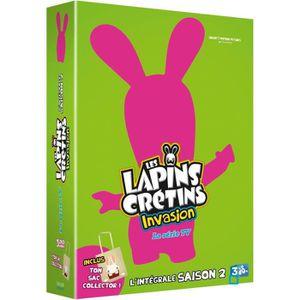 DVD DESSIN ANIMÉ DVD Les Lapins Crétins : Invasion - La série TV -