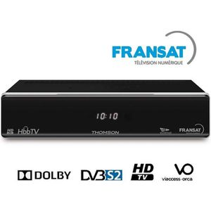 THOMSON THS 805 Décodeur TNT HD satellite FRANSAT HD