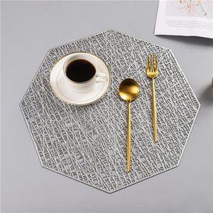 SET DE TABLE 4x Napperon Set de table rond Tapis isolant - Arge