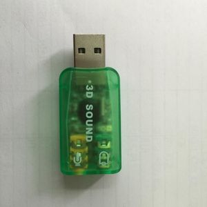CARTE SON INTERNE Carte son USB 3D sound 5,1 channal entrée micro et