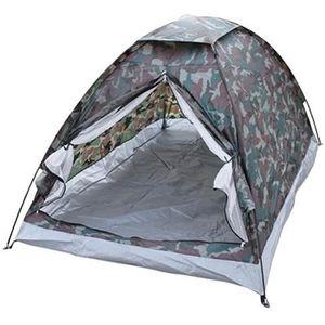 BAIN DE BOUCHE Tente en polyester motif camouflage 2 places * Mat