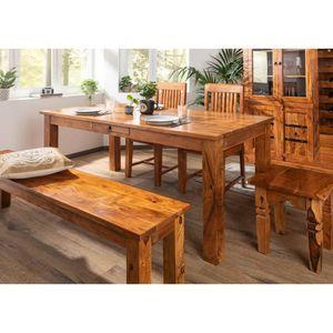 TABLE À MANGER SEULE Table à manger rectangulaire 180x90cm, 6 à 8 Perso