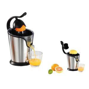 PRESSE-FRUIT - LEGUME MANUEL Presse-agrumes électrique avec bec verseur oranges