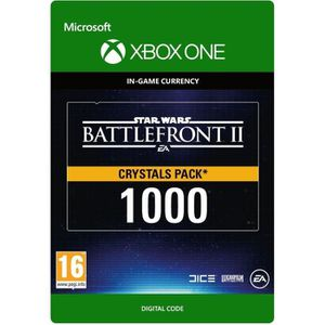 EXTENSION - CODE DLC Star Wars Battlefront II: 1000 Crystals pour X