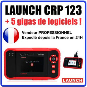 OUTIL DE DIAGNOSTIC Launch CRP 123 - Valise Diagnostic MULTIMARQUES -