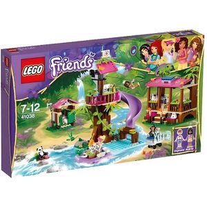 ASSEMBLAGE CONSTRUCTION LEGO FRIENDS 41038 BASE DE SAUVETAGE DE LA JUNGLE
