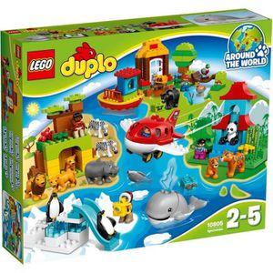 ASSEMBLAGE CONSTRUCTION LEGO® DUPLO® Ville 10805 Le Tour du Monde