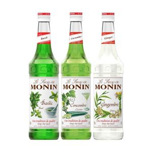 SIROP Assortiment Monin Découverte (pack 3x70cl)