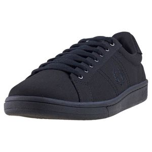Baskets Fred Hommes Perry B721 Noir UK 7 Tricot fqq4ITp