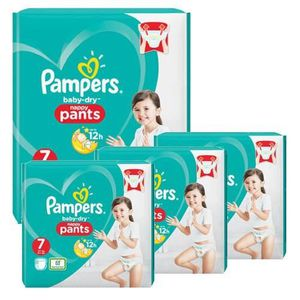 COUCHE 116 Couches Pampers Baby Dry Pants taille 7