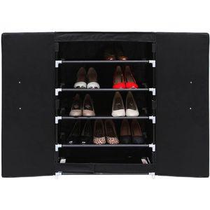 MEUBLE À CHAUSSURES SONGMICS Armoire étagères à chaussures 6 couches m