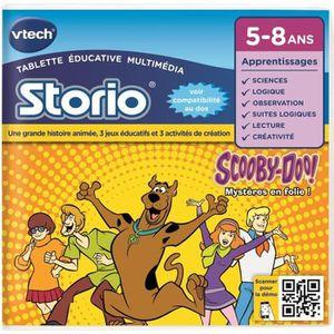 JEU CONSOLE ÉDUCATIVE VTECH Jeu Storio Scooby Doo