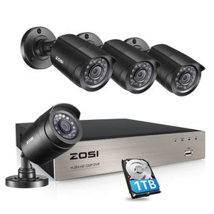 CAMÉRA DE SURVEILLANCE ZOSI 8CH HD 720p 1.0Méga Kit de Caméra Surveillanc
