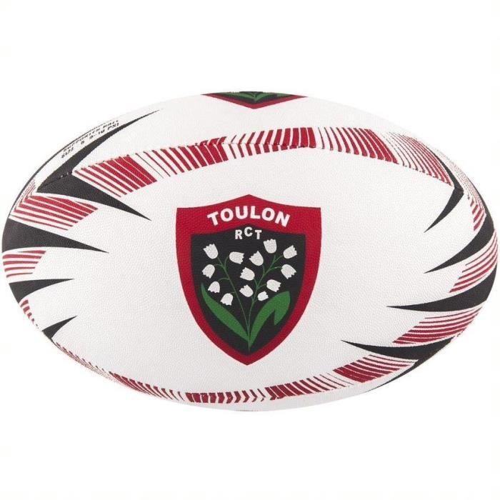 GILBERT Ballon de rugby Supporter Club Toulon - Taille 5 - Homme