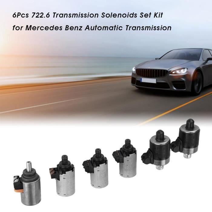 6Pcs Kit de solénoïdes de transmission pour boîte de vitesses automatique Mercedes Benz-CWU