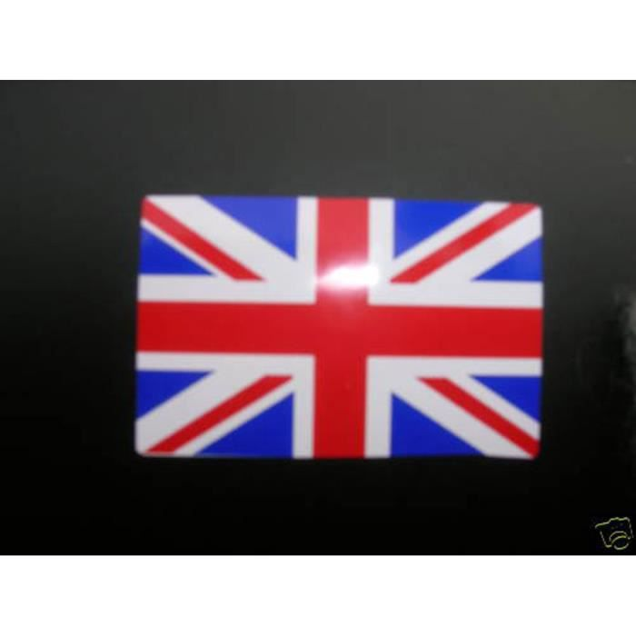 STICKER AUTOCOLLANT DRAPEAU ANGLAIS UNION JACK CASQUE MOTO TRIUMPH BSA NORTON