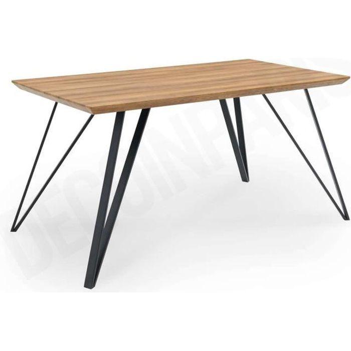 Table à manger en bois design LIA
