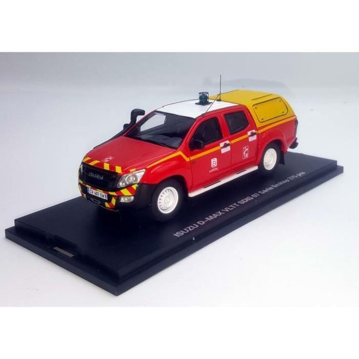 ISUZU D-MAX Sapeurs Pompiers VLTT SDIS 07 Ardèche au 1/43 Voiture de Collection