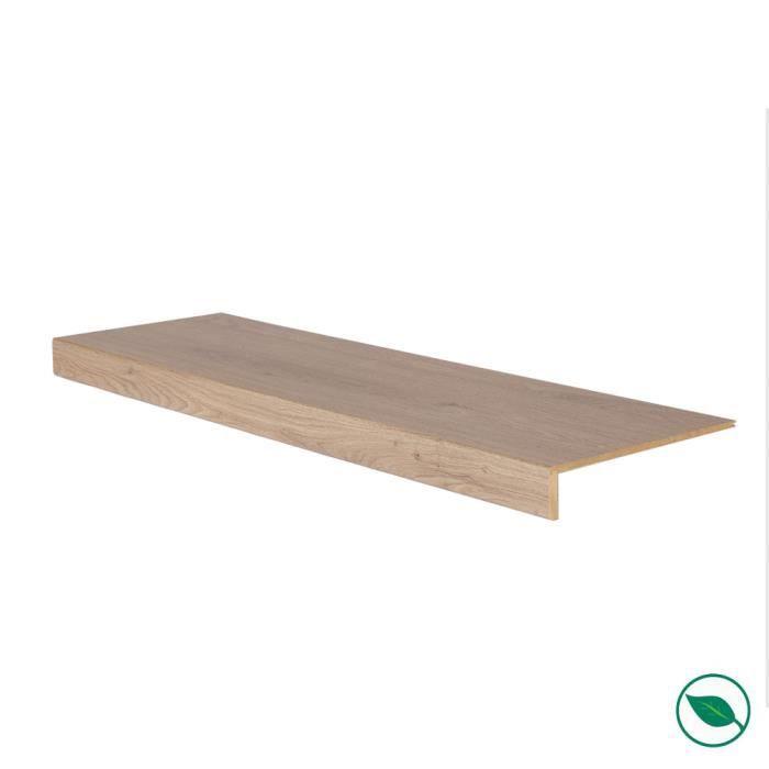 Marche rénovation d'escalier stratifié louisiana 1300 x 380 x 5,6 mm . FORESTEA Dimensions : 1300 mm x 380 mm x 5.6 mm