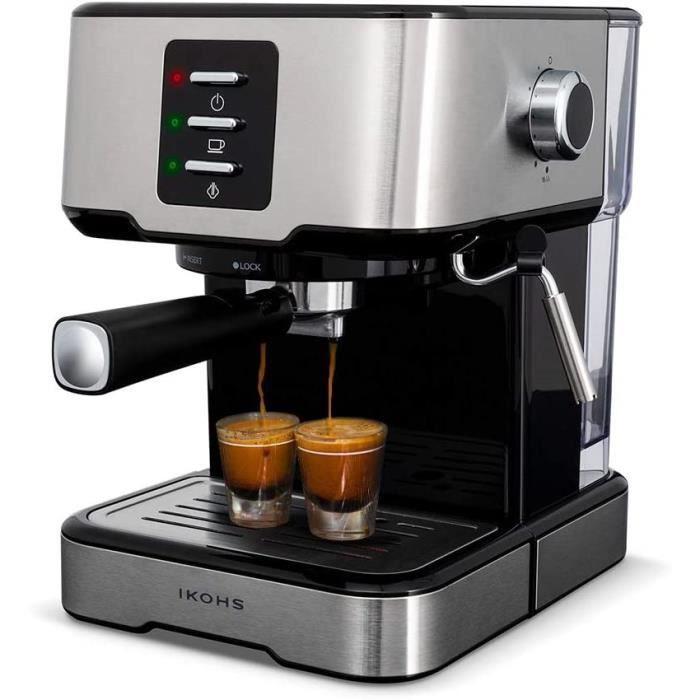BARISMATIC 20b - Cafetera express (gris)