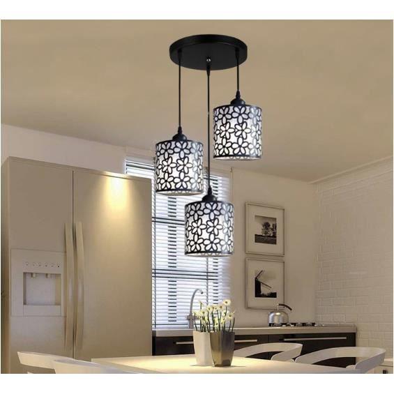 Lampe à Suspension LED Moderne Pétale de Fleur Plafonnier Pendentif TYPE5