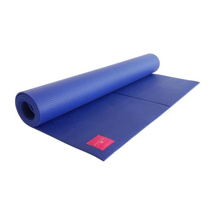 SHANTI NATION - Shanti Mat XXL - tapis de yoga extra large - 200*100*0,6 cm - écologique - marquage d'alignement